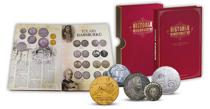 História mincovníctva - s novou publikáciou ľahko preniknete do tajov numizmatiky!