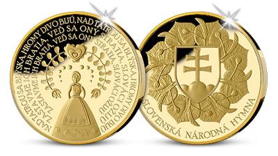 Slovenská hymna sa dočkala numizmatickej ilustrácie!