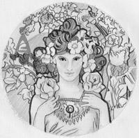 Návrh medaily od Gabriely Soukalovej