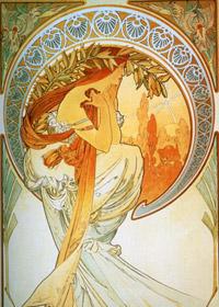 Alfons Mucha - Poézia