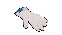 Bavlnené rukavice na mince