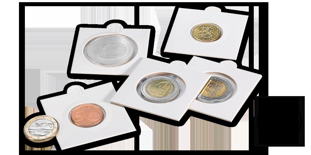 Mincový rámček MATRIX - priemer 32,5 mm, 100 ks