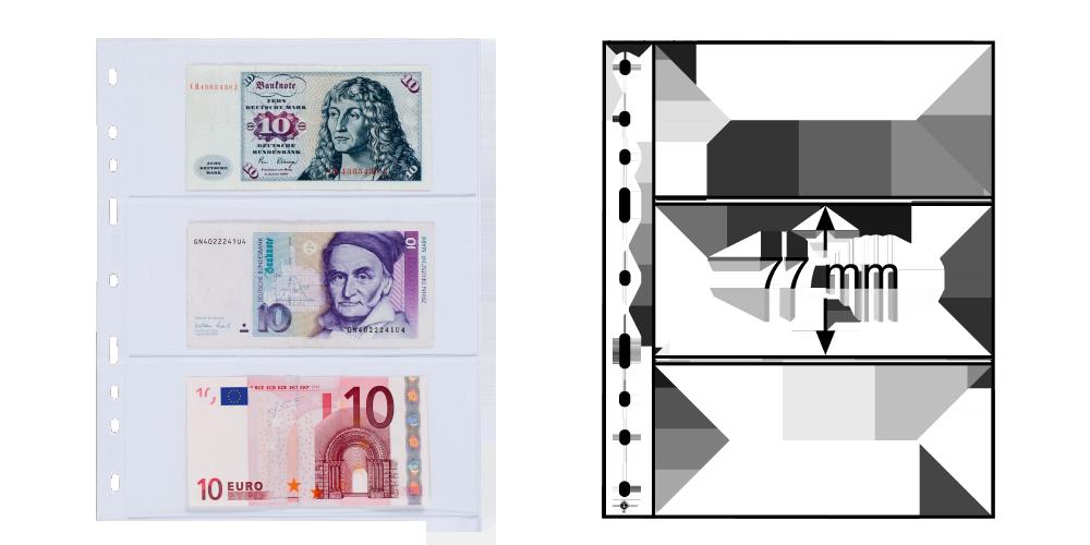 Obaly na bankovky OPTIMA 3C
