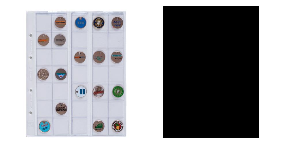 Obaly na mince OPTIMA 27