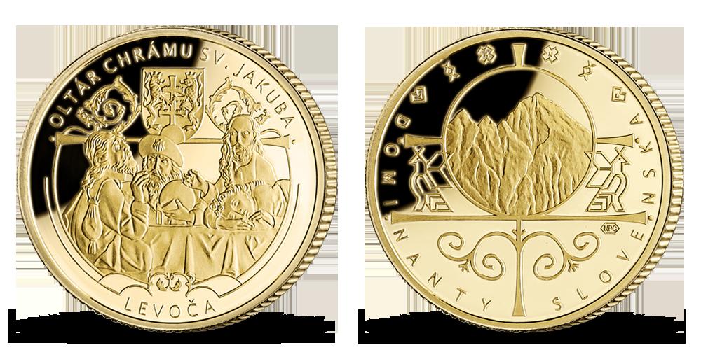 Oltár majstra Pavla vo večnom zlate