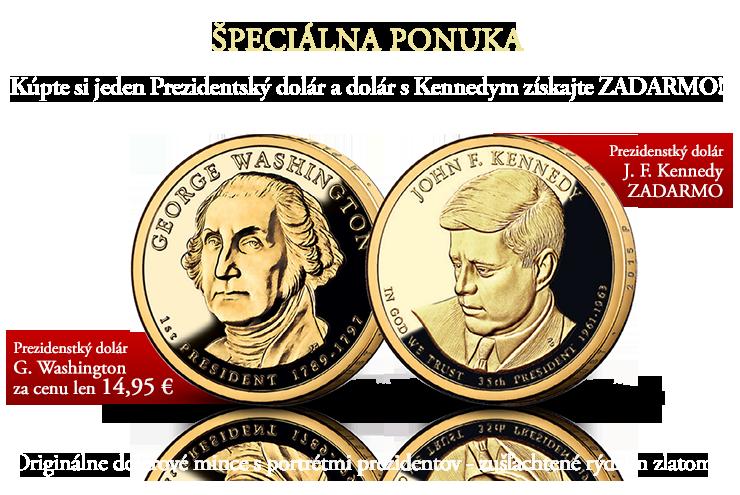 Oficiálne prezidentské doláre Spojených štátov amerických