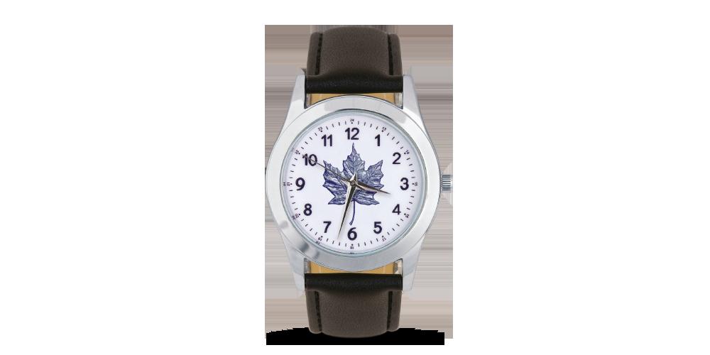 Quartz hodinky s motívom Maple Leaf