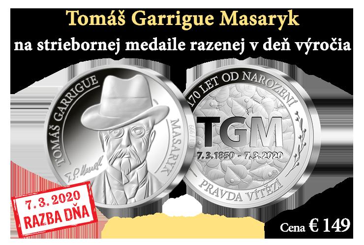 Razba dňa - 170. výročie narodenia T. G. Masaryka
