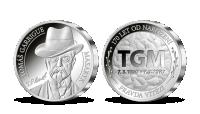 Razba dňa - 170. výročie narodenia T. G. Masaryka na striebornej medaile