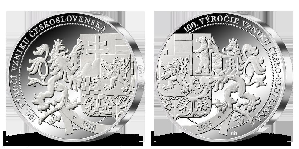 Razba dňa - 100. výročie vzniku Česko-Slovenska