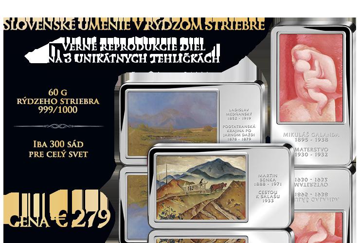 Slovenské umenie v rýdzom striebre