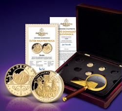 Súčasťou kolekcie Zlaté dominanty Slovenska je jedinečné príslušenstvo ZADARMO