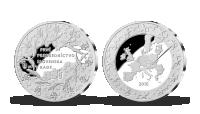 Jubilejná pamätná medaila z rýdzeho striebra