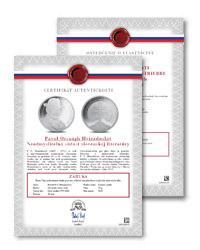 Certifikát autentickosti