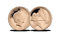Zlatý sovereign - unikátny výjav svätého Juraja na tradičnom Sovereign