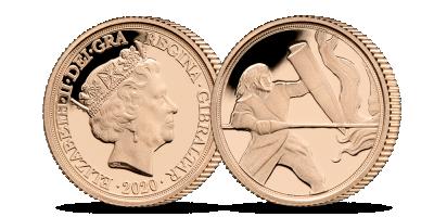 Zlatý Quarter Sovereign, unikátny výjav svätého Juraja