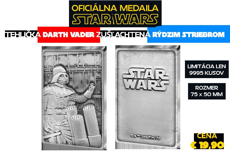 Oficiálna medaila Star Wars, Darth Vader
