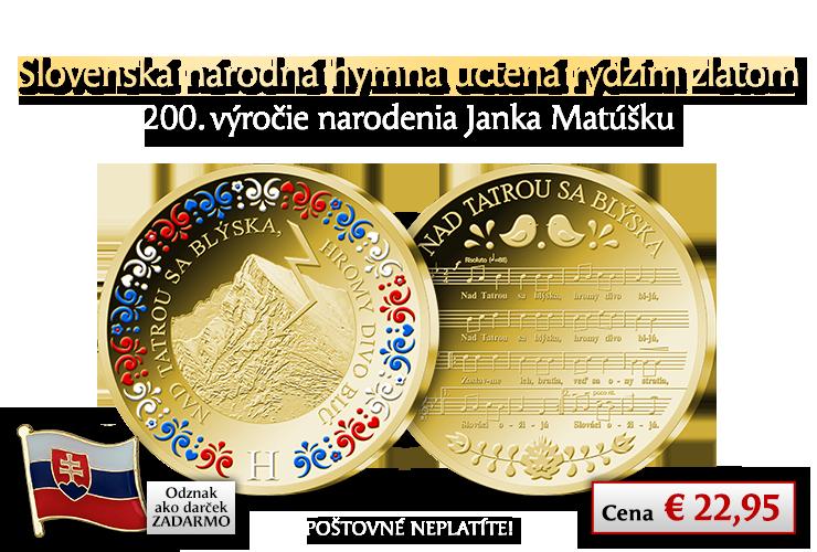 Nad Tatrou sa blýska - národná pieseň a štátna hymna