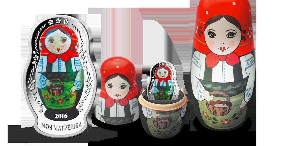 Najslávnejšia ruská hračka v rýdzom striebre
