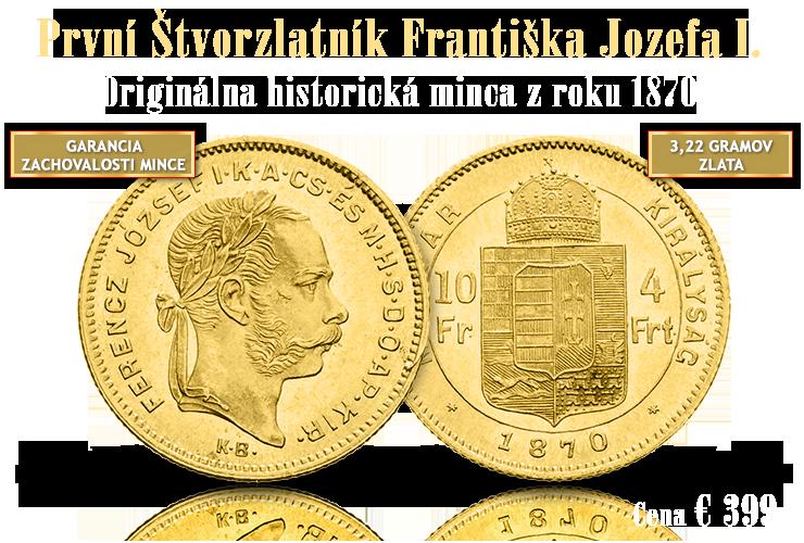 Štvorzlatník cisára Františka Jozefa I.