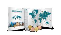 Svetové meny - album plný minci z 50 krajín