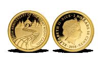 Tichá noc - zlatá minca z rýdzeho zlata 999/1000
