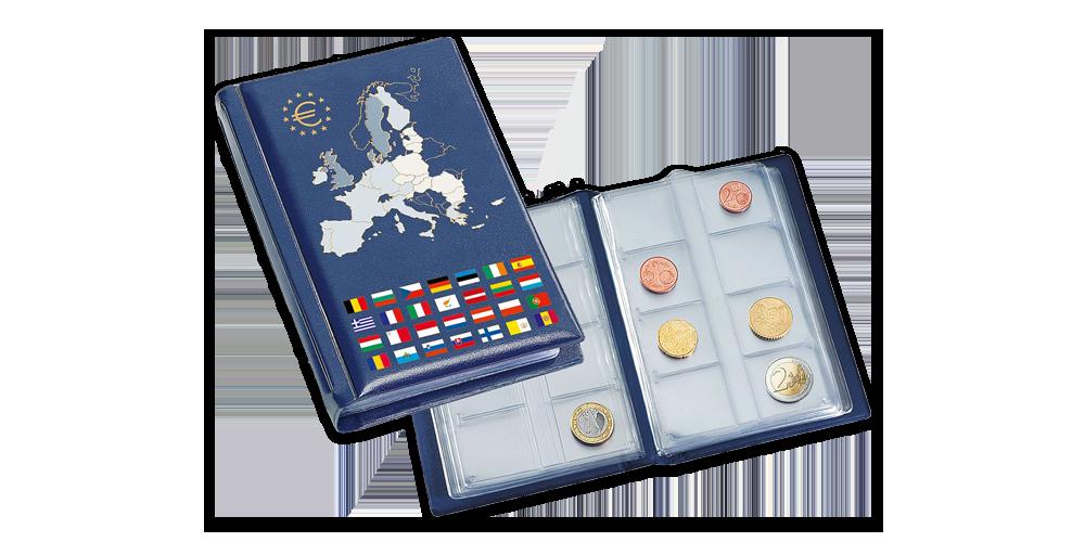 Vreckový zberateľský album ROUTE Euro