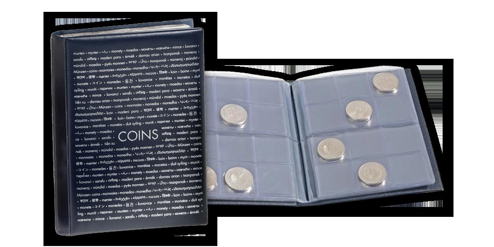 Vreckový zberateľský album ROUTE na 96 mincí