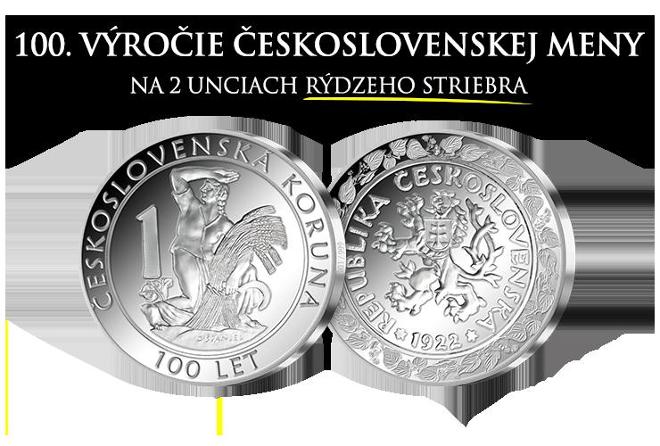 100. výročie založenia československej meny