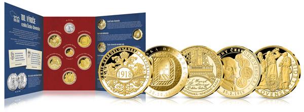Ďalšie numizmaty a jedinečný numizmatický album k ich uloženie