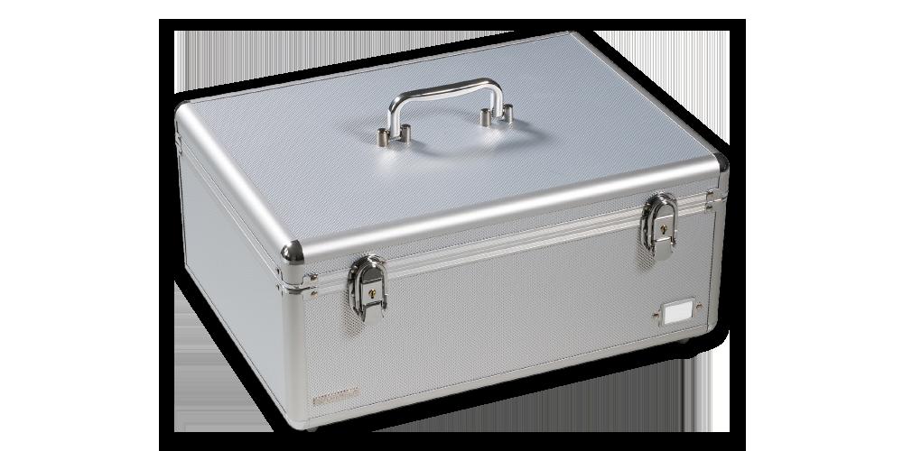 Zberateľský kufor CARGO MULTI XL, strieborný