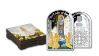Strieborná minca Panna Mária Fatimská