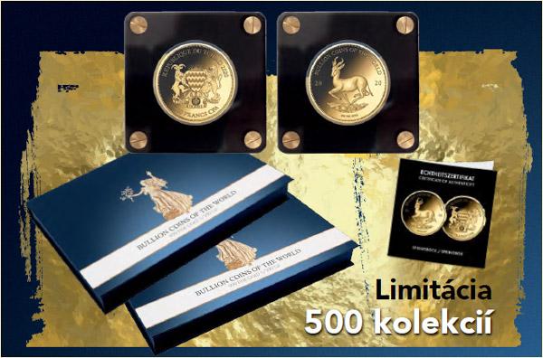Svetové zlaté mince – príslušenstvo zadarmo