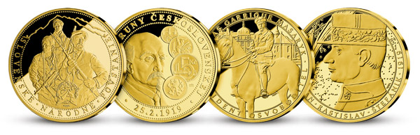 Ďalšie medaily v kolekcii