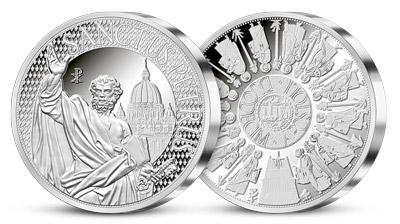 Nová zbierka strieborných medailí pripomenie 12 apoštolov