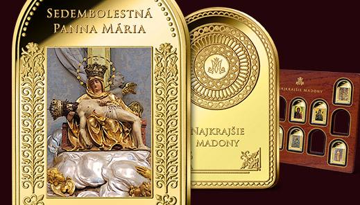 Národná Pokladnica predstavuje novinku – medaily zasvätené Madonám!