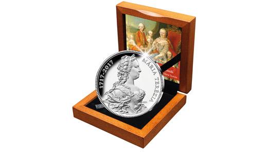 Národná Pokladnica uctí 300. výročie Márie Terézie striebornou pamätnou medailou…